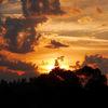 Licht, Feuer, Farben, Wolken
