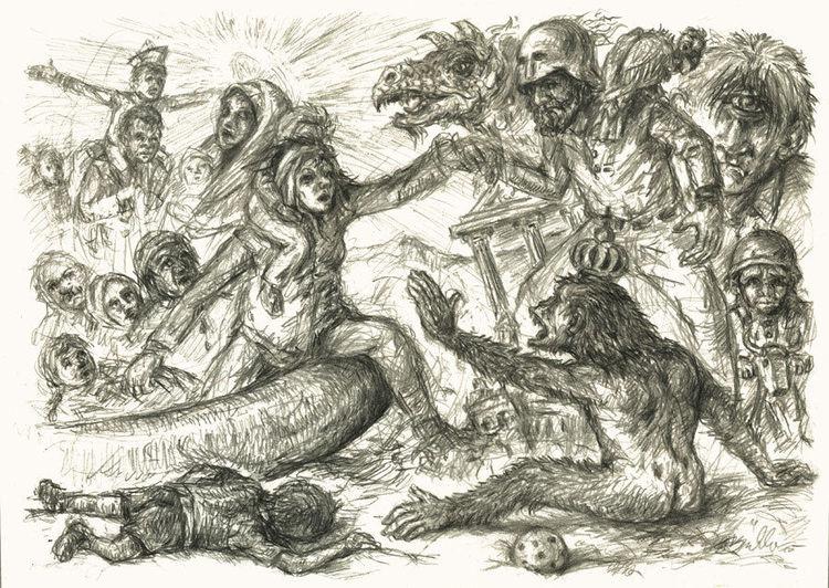 Angekommende, Geschichte, Christentum, Fluch, Vertreibung, Bedrohlich