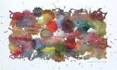 Aquarellmalerei, Malerei, Abstrakt