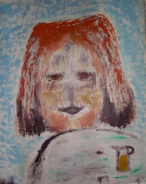 Abstrakt, Malerei, Hund