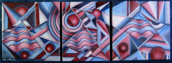Abstrakt, Kreis, Geometrie, Berlin, Kugel, Malerei