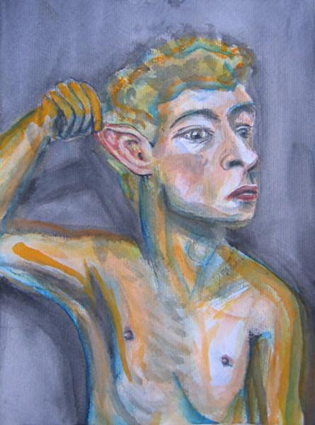 Elfen, Aquarellmalerei, Berlin, Ohr, Aquarell, Portrait