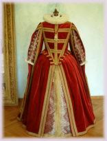 Kostüm, Brautmode, Mittelalter, Historische, Hochzeitskleider, Renaissance