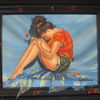 Öl portrait, Italienerin, Zeitgenössisch, Symbolismus