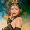 Fantasie, Frau, Portrait, Steampunk