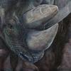 Tiermalerei, Nashorn, Unendlichkeit, Tiere