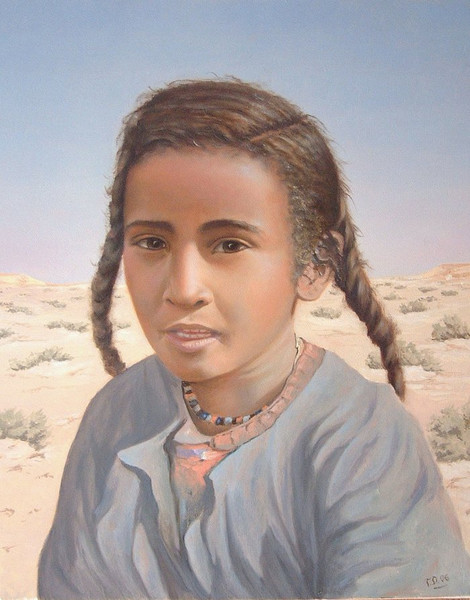 Malen, Gegenwartskunst, Orientalismus, Arabisch, Nomaden, Malerei