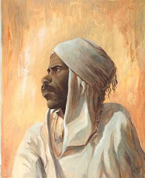 Afrika, Orientalismus, Arabisch, Malen, Gegenwartskunst, Charakter