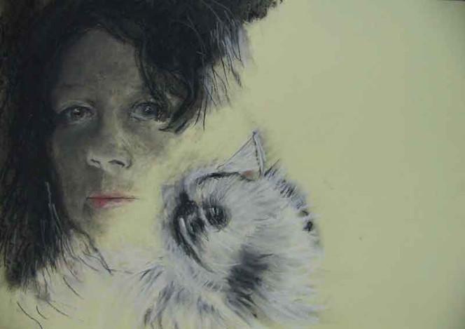 Katze, Portrait, Schleichen
