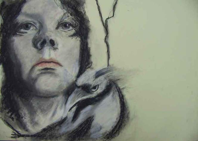 Portrait, Rabe,