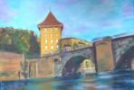 Bern, Felsenburg, Aare, Nydegg