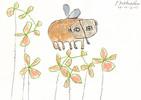 Petrus, Akkordeon, Elefant, Zeichnung