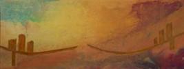 Malerei, Moderne kunst, Materialbilder, Acrylmalerei