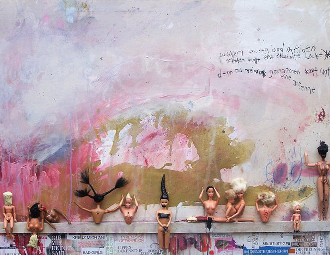 Malerei, Abstrakt, Abendmahl