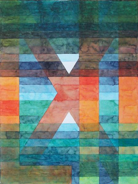 Antwort, Römisch, Zahlen, Aquarellmalerei, Aquarell, Klee