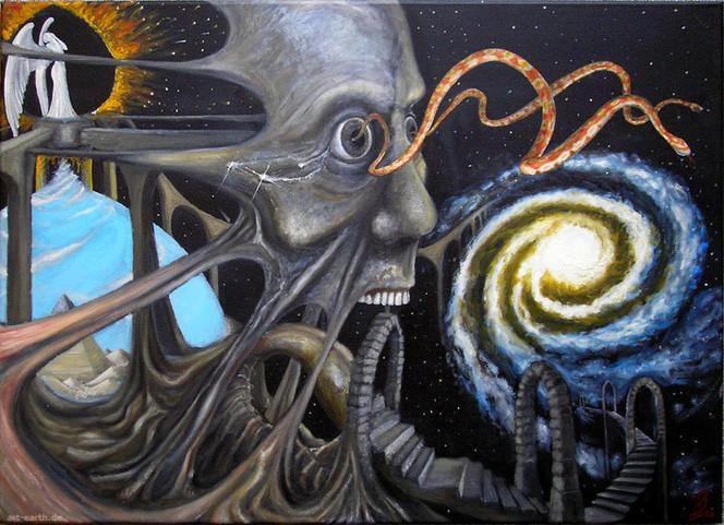 Bewusstsein, Halluzinogen, Surreal, Tür, Wahrnehmung, Universum