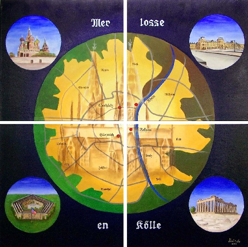 Gemeinschaftswerke, Bläck, Meyburg, Fööss, Dom, Kölle