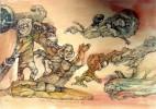 Catro, Aquarellmalerei, Politik, Fidel