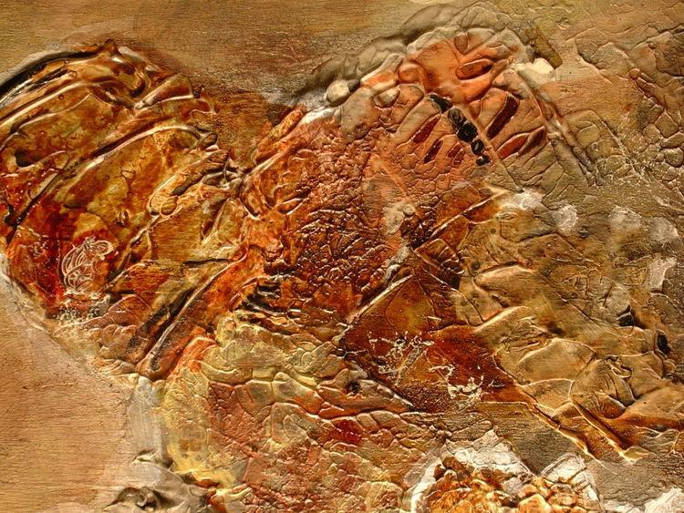 Acrylmalerei, Holz, Abstrakt, Traum, Malerei