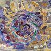 Fantasie, Acrylmalerei, Pappe, Malerei