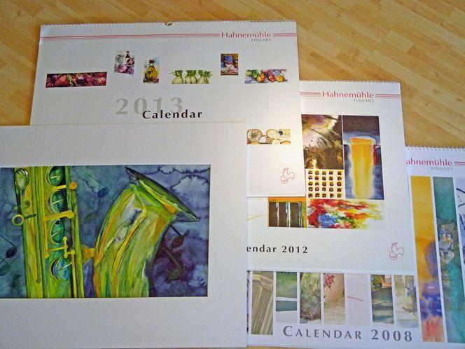 Kalender, Musik, Kalenderwettbewerb, Jazz, Aquarellmalerei, Malwettbewerb