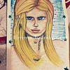 Selbstportrait, Comic, Zeichnungen,