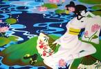 Manga, Geisha, Ölmalerei, Malerei