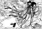 Geisha, Manga, Zeichnungen