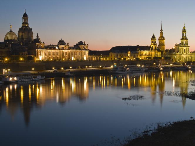 Deutschland, Terrasse, Hausmannsturm, Europa, Elbe, Kunsthochschule