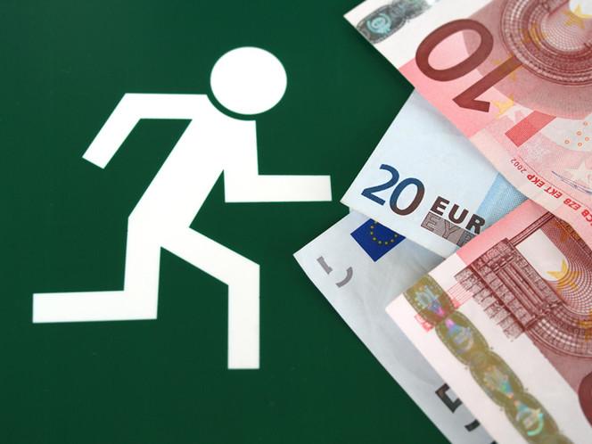 Finanz, Geld, Rennen, Piktogramm, Weiß, Euro