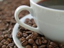Gemahl, Teller, Getränk, Kaffeebohnen