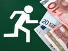 Finanz, Geld, Rennen, Piktogramm