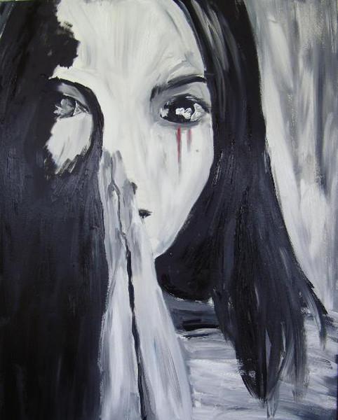 Hoffnung, Trauer, Figural, Kummer, Malerei, Liebe