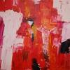 Malerei, Surreal, Kreuz