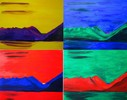 Neutral, Bekennen, Berge, Farben