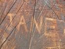Initialen, Fotografie, Struktur, Holz