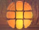 Fenster, Feuer, Digital, Sonnenuntergang