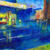 Blau, Stadt, Gelb, Rot