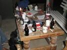Tisch, Stammtisch, Schlacht, Stehlampen