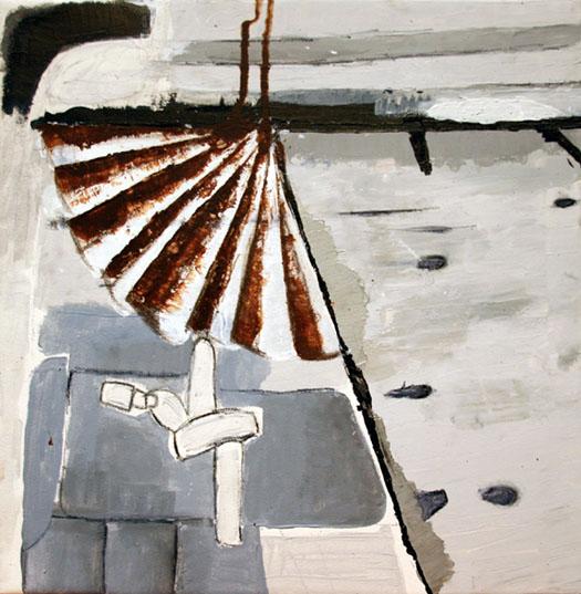 Brücke, Capri, Abenstimmung, Abstrakt, Kwai, Malerei