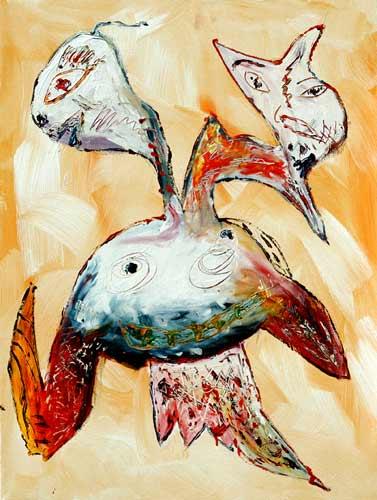 Malerei, Abstrakt, Gucken