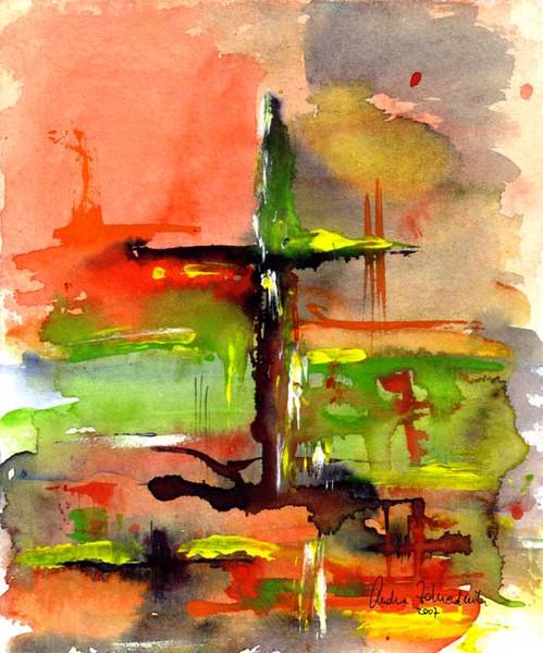 Malerei, Kreuz
