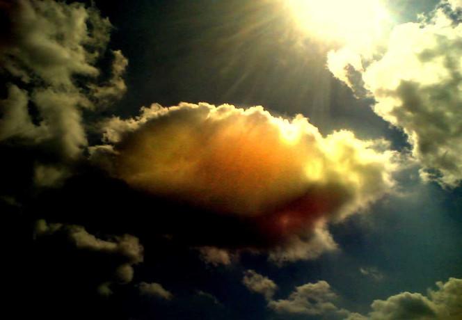 Geburt, Vergehen, Fotografie, Wolken, Licht, Born