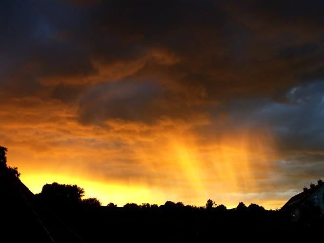 Fotografie, Sonnenlicht, Regen, Wolken