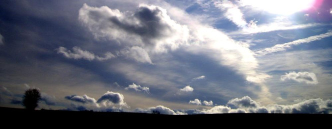 Fotografie, Wolken, Farben, Landschaft, Feld, Licht