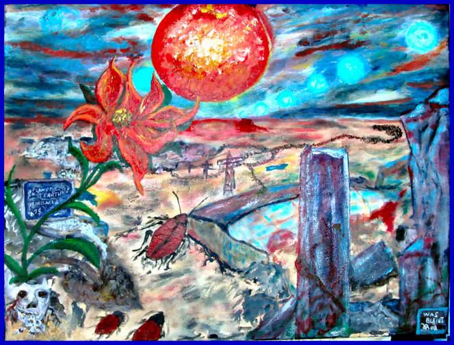 Umwelt, Blumen, Surreal, Menschen, Landschaft, Geld