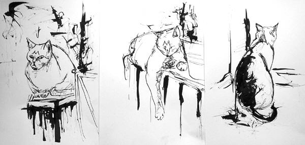 Skizze, Zeichnung, Zeichnungen, Finger, Weg