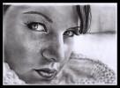 Ruschig, Portrait, Zeichnung, Josephine