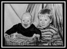 Ruschig, Bruder, Bleistiftzeichnung, Portrait