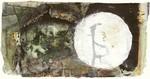 Collage, Landschaft, Grün, Schwarz